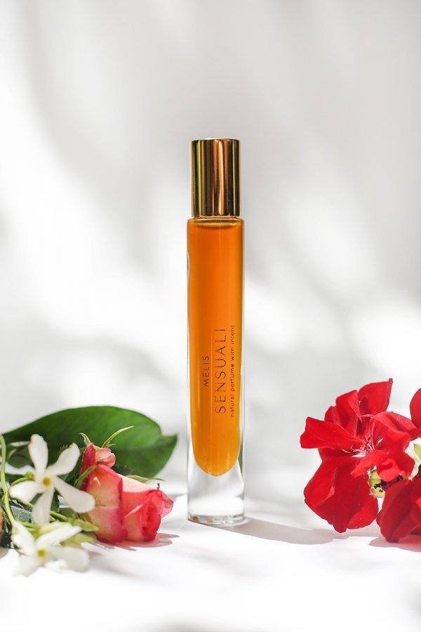 Sensuali MELIS natural perfume with flowers