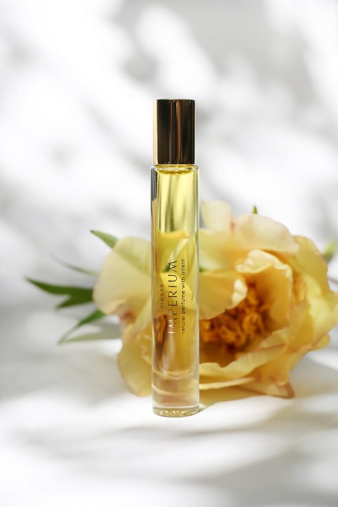Imperium MELIS 100% natural perfume with flower