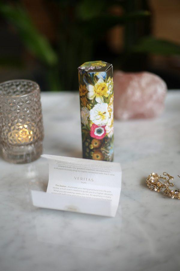 Veritas MELIS natural perfume with packaging