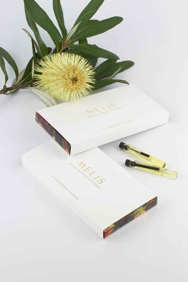 Melis 100% natural perfume discovery sets